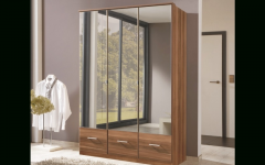 3 Door Mirrored Wardrobes