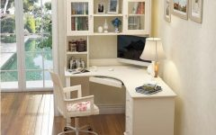Study Desk With Bookshelves