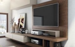 Contemporary Tv Wall Units
