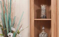 Corner Oak Bookcases