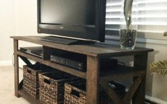 Tv Stands with Baskets