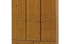 3 Door Pine Wardrobes