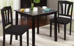 3 Pieces Dining Tables and Chair Set