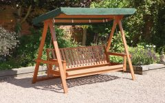 3-seat Pergola Swings