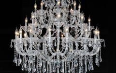 3 Tier Crystal Chandelier