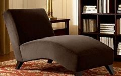 Brown Chaise Lounges