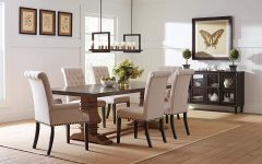 Coaster Contemporary 6-seating Rectangular Casual Dining Tables