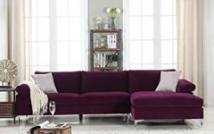 Velvet Sectional Sofas