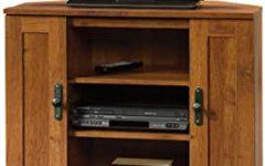 Grooved Door Corner Tv Stands
