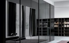 Black Glass Wardrobes