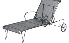 Wrought Iron Chaise Lounges