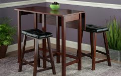 Bettencourt 3 Piece Counter Height Dining Sets