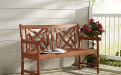 Maliyah Wooden Garden Benches