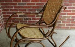 Antique Wicker Rocking Chairs
