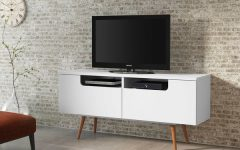 White Wood Tv Stands