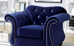 Blue Sofa Chairs