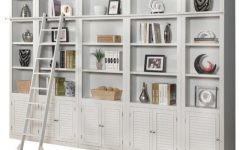Library Bookcases Wall Unit