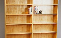 Plywood Bookcases