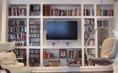 Bookcases with Tv Storage