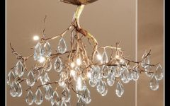 Branch Crystal Chandelier