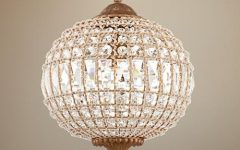 Globe Crystal Chandelier
