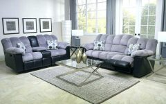 Caressa Leather Dark Grey Sofa Chairs