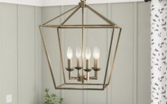 Carmen 6-light Lantern Geometric Pendants