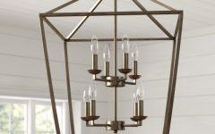 Carmen 8-light Lantern Geometric Pendants