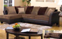 Chocolate Brown Sectional Sofas