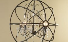 Metal Ball Chandeliers