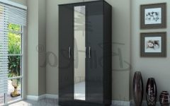 Cheap Black Gloss Wardrobes