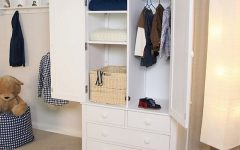 Childrens Wardrobes with Drawers and Shelves
