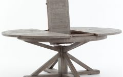 Small Round Dining Tables With Reclaimed Wood