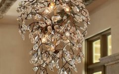Crystal Branch Chandelier