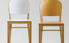 Valencia Side Chairs with Upholstered Seat