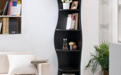 Corner Bookcases by Hokku Designs