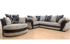 Corner Sofa And Swivel Chairs