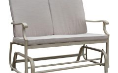 Aluminum Outdoor Double Glider Benches