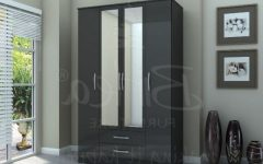 Cheap Black Wardrobes