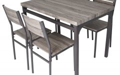 Emmeline 5 Piece Breakfast Nook Dining Sets