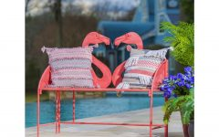 Flamingo Metal Garden Benches