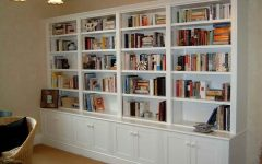 Large Bookcases Plans