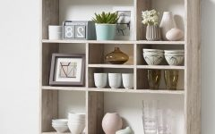 Oak Wall Shelving Units