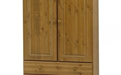 Pine Wardrobes With Drawers