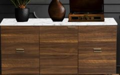 """Pitzer 47.91"""" Wide 4 Drawer Wood Sideboards"""