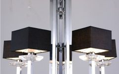 Contemporary Black Chandelier
