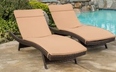 Cushion Pads for Outdoor Chaise Lounge Chairs