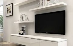 Shelves for Tvs on the Wall