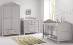 Double Rail Nursery Wardrobes
