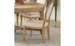 Magnolia Home Emery Ivory Burlap Side Chairs